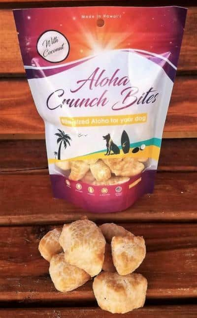 Aloha Coconut Crunch Bites for dogs