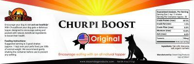 Churpi Boost Original Label